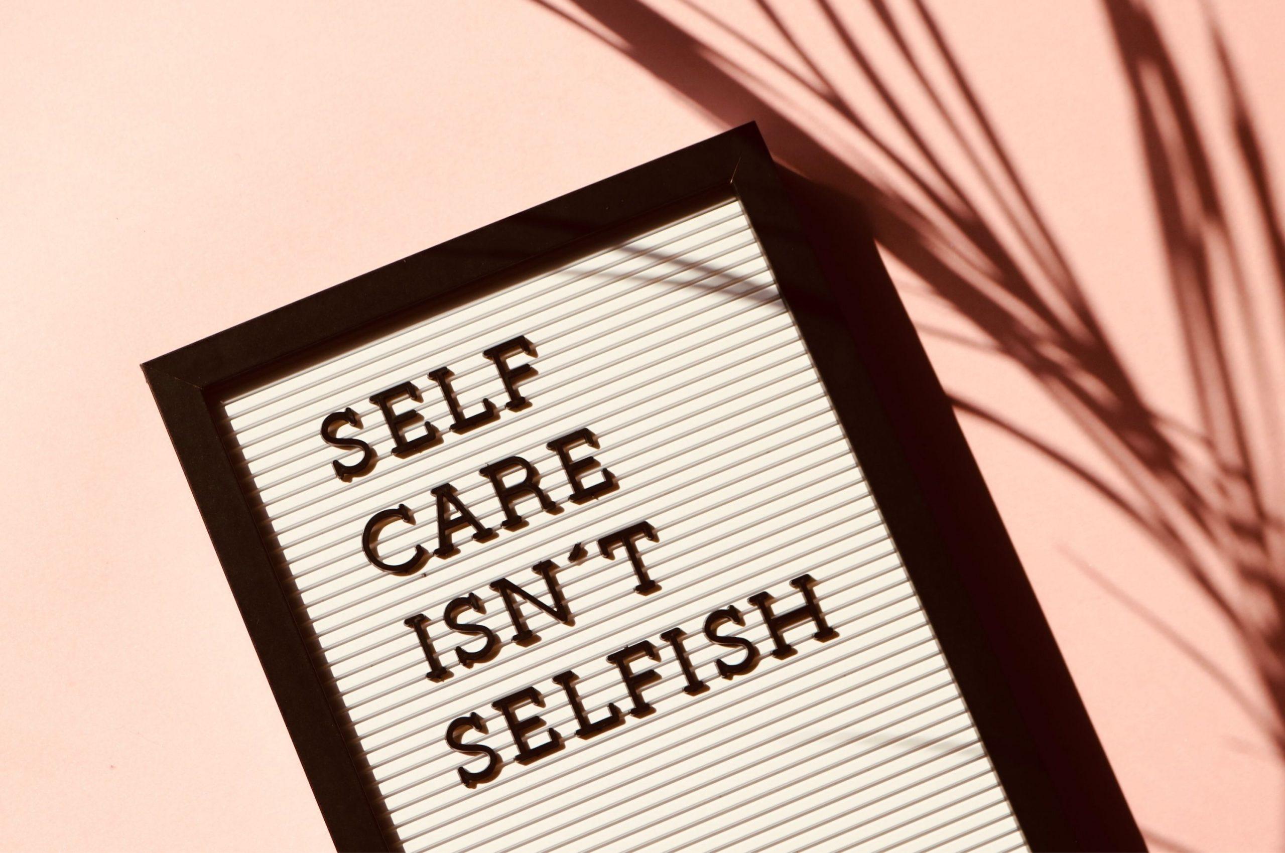 Selfcare 101